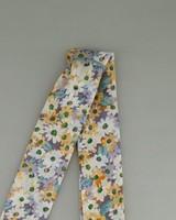 Glenda Floral Print Neckerchief -  lilac