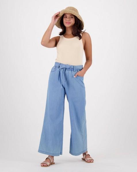 Women's Chesca Pants -  lightblue