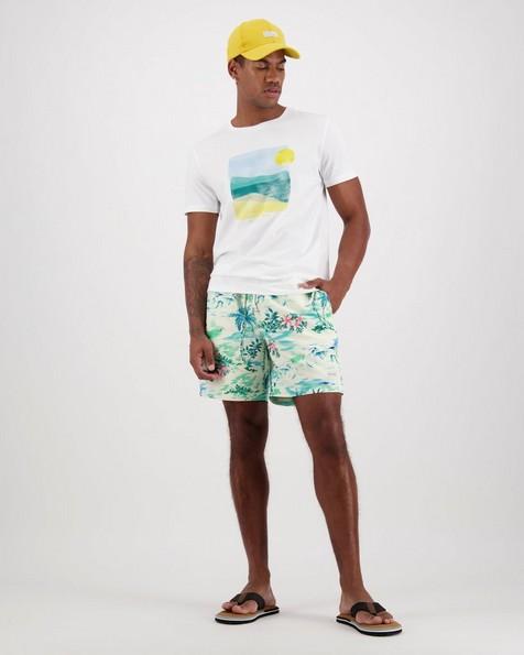 Men's Ryan Swim Shorts -  green