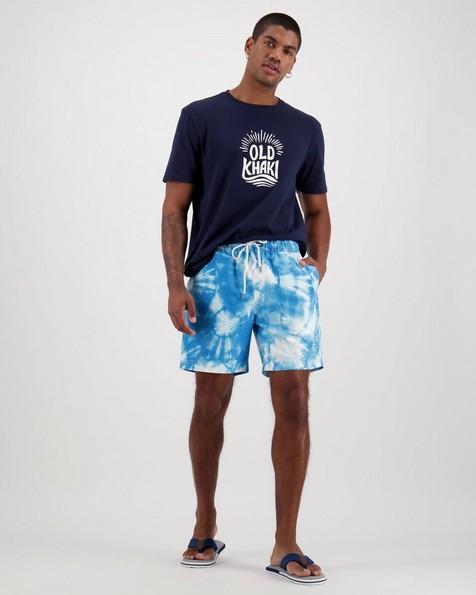 Men's Luke Swim Shorts -  aqua