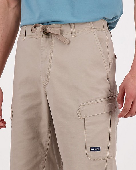 Men's Spence Utility Shorts -  taupe