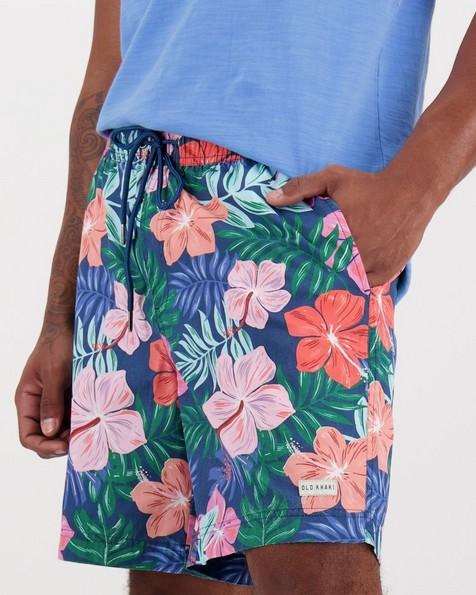 Men's Tsepho Swim Shorts -  blue