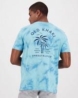 Men's Pax Relaxed Fit T-Shirt -  aqua