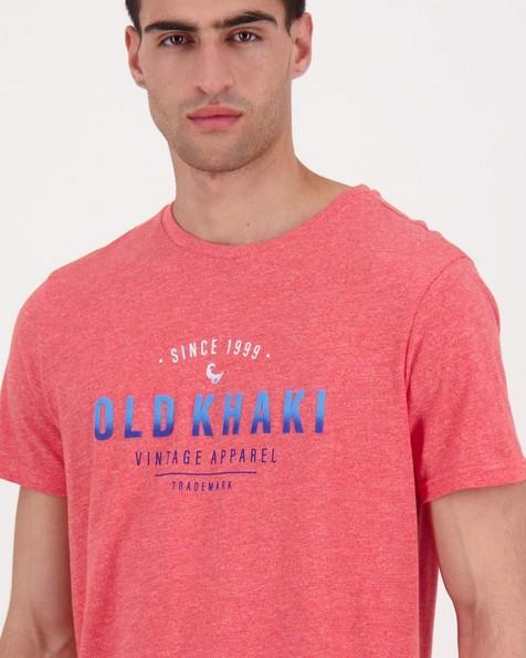 Men's Kabelo Standard Fit T-Shirt -  coral