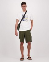 Men's Musi Relaxed Fit T-Shirt -  white
