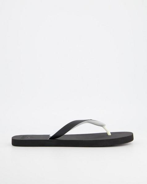 Men's Old Khaki Flip Flop -  black