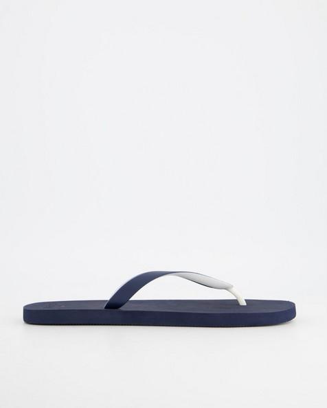 Men's Old Khaki Flip Flop -  navy