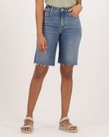 Women's Rowena Denim Shorts -  navy