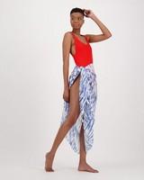 Women's Jeanie One-Piece Swimsuit -  red