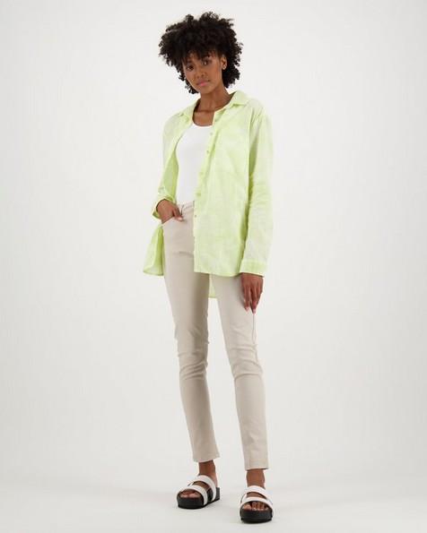 Women's Jules Shirt -  lime