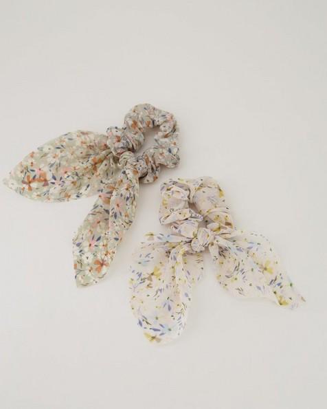 Women's Tamala 2-Pack Scrunchie Hair Ties -  lightpink