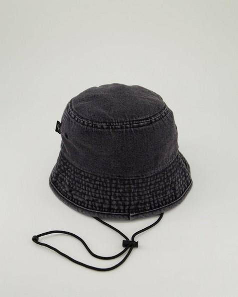 Men's Shorn Denim Bucket Hat -  grey