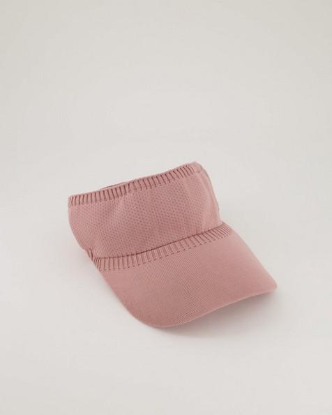 Women's Cally Knitted Visor -  lightpink