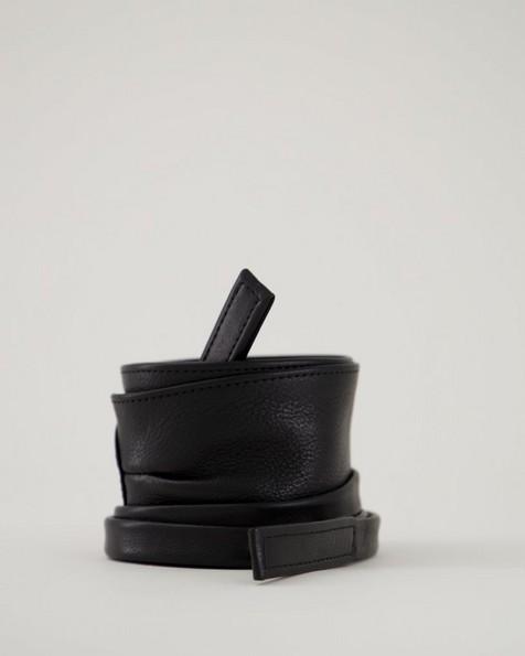 Women's Medea Waist Tie Belt -  black