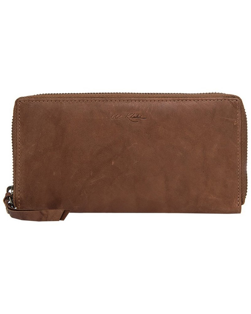 Keira Leather Wallet -  tan-tan