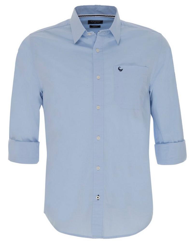 Old Khaki Men's Andy Slim Fit Shirt -  lightblue