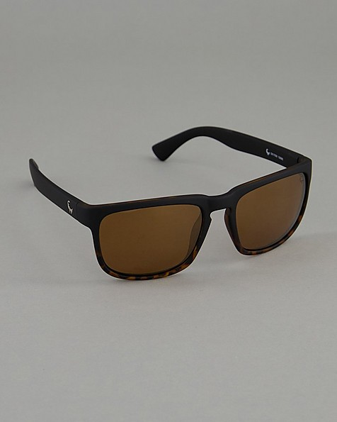 Old Khaki Polarised Men's Lounger Sunglasses -  black-brown