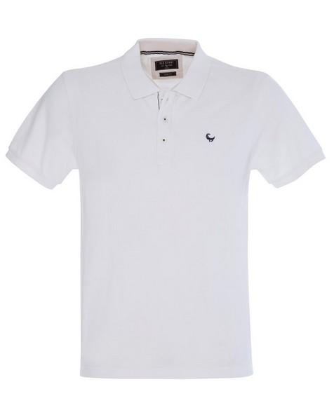 Alex Men's Standard Fit Golfer -  white