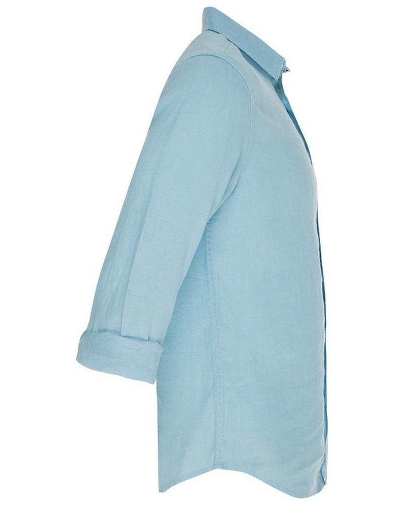 Dustin Men's Slim Fit Shirt -  blue