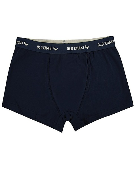 Men's 2-Pack Dot Underwear -  grey-navy