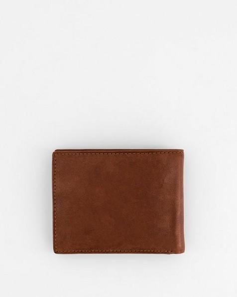 Dale Leather Wallet -  tan-tan