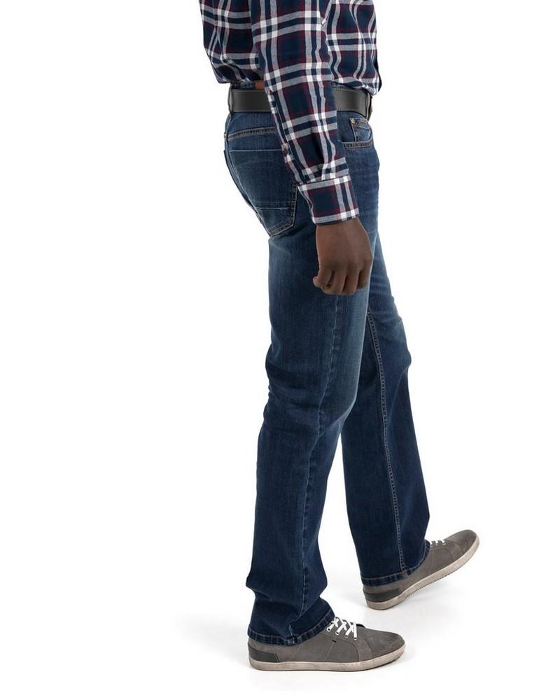 Old Khaki Men's Jordy Regular Straight Denim -  midblue