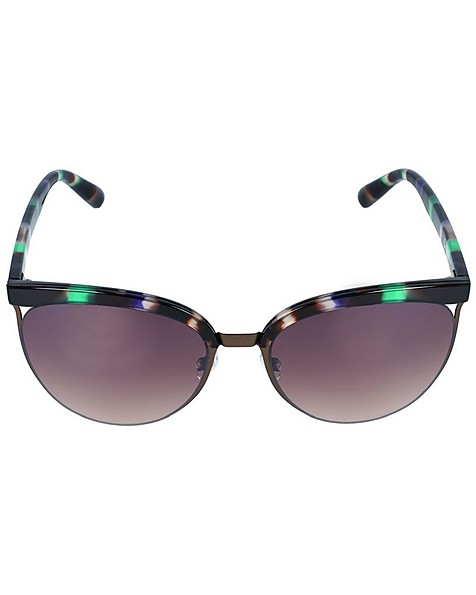 Old Khaki Ladies Half Rim Sunglasses -  assorted-brown