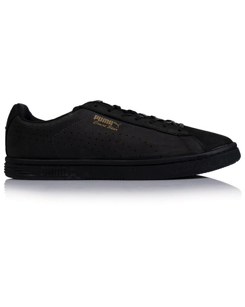 Men's Puma Court Star Sneaker -  black