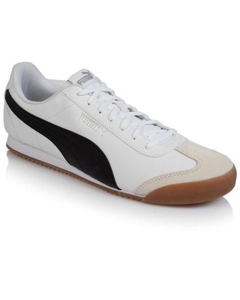 Men's Puma Turino Sneaker -  white-black
