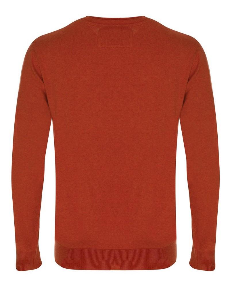 Men's Rustin Pullover  -  pumpkin