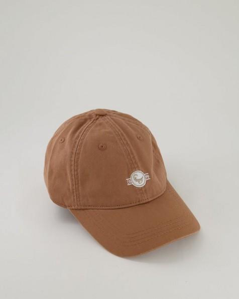 Men's Maxwell Top Stitch Detail Peak -  brown