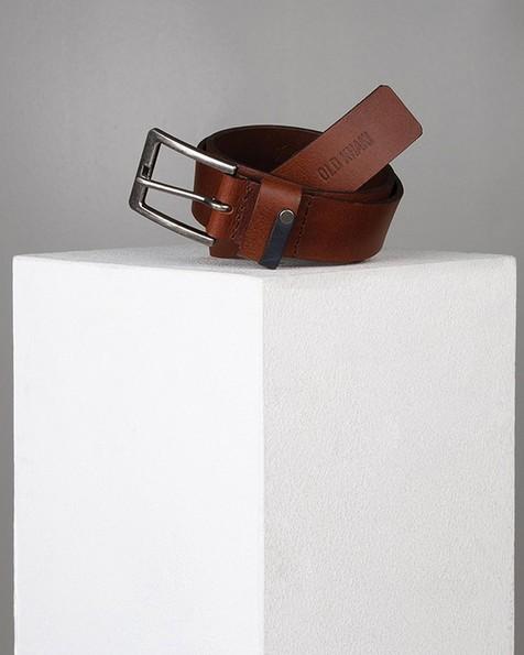 Duke Rivet Loop Detail Belt -  tan-tan