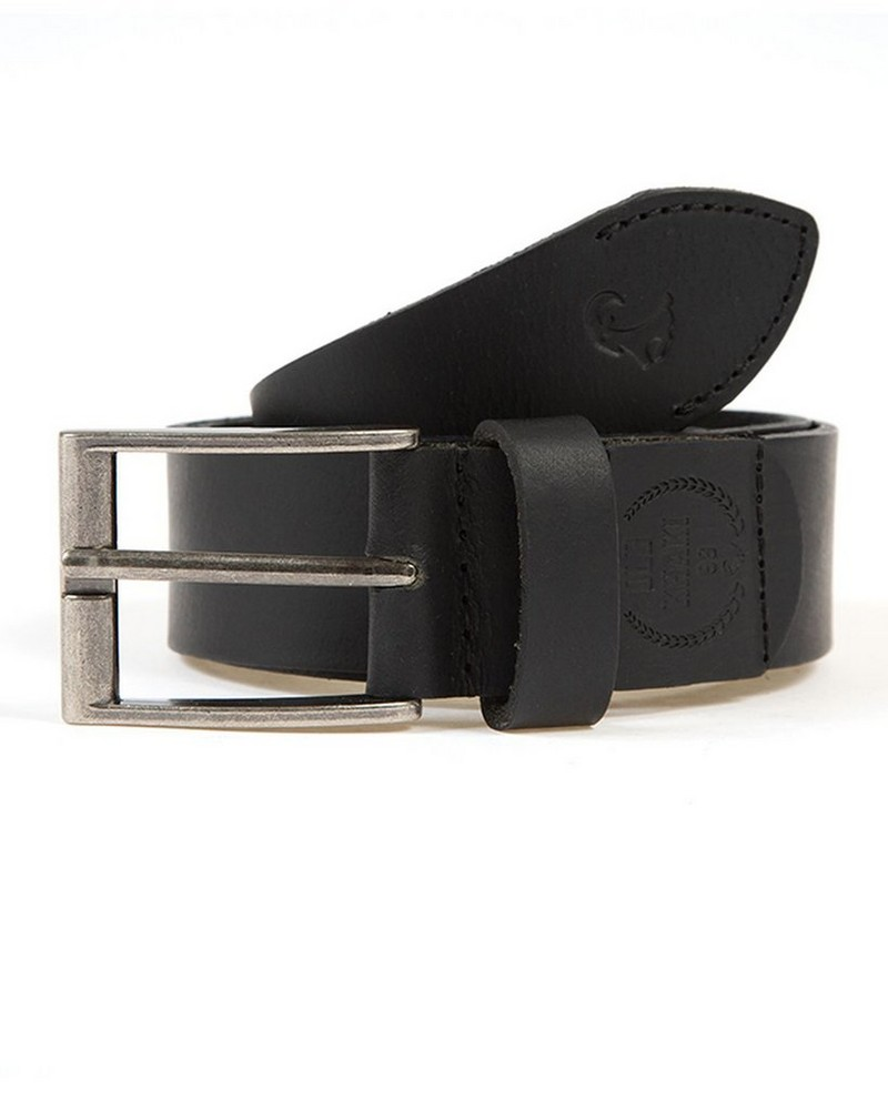 Men's Corbin Branded Belt -  black