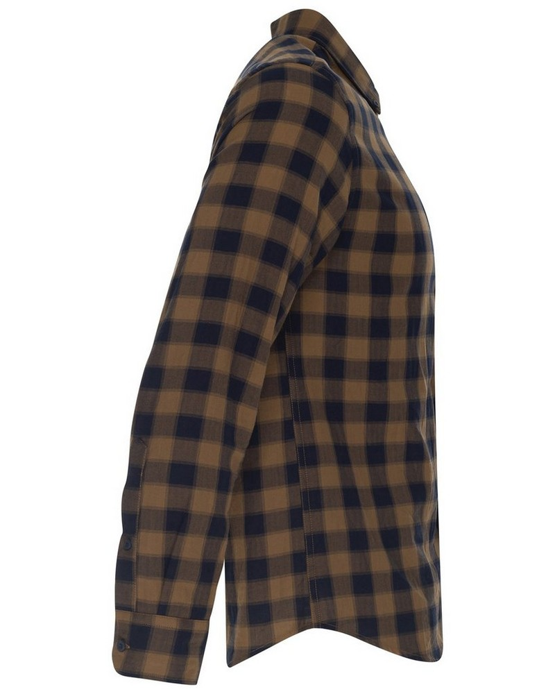 Old Khaki Men's Roberts Slim Fit Shirt  -  brown