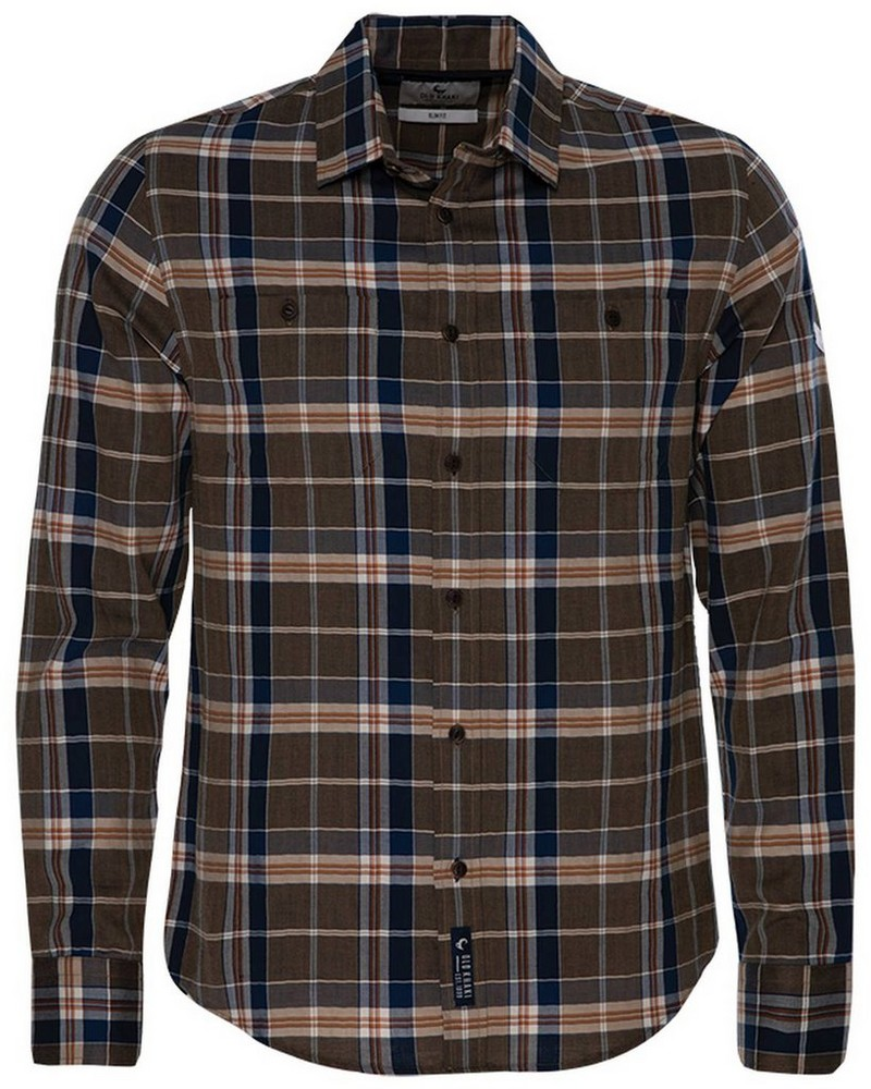 Old Khaki Men's Ashton Slim Fit Shirt -  brown