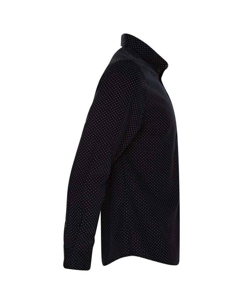 Old Khaki Men's Lucas Slim Fit Shirt  -  navy