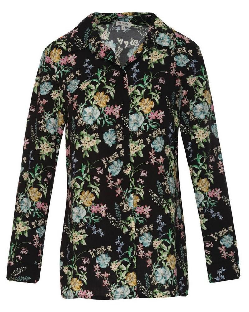 Old Khaki Women's Athena Shirt -  black-assorted