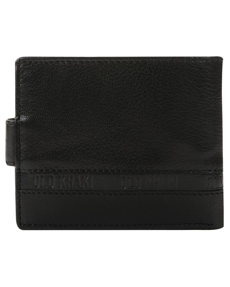 Christiano Leather Wallet -  black