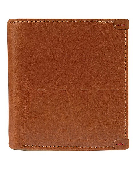 Colten Leather Wallet -  tan