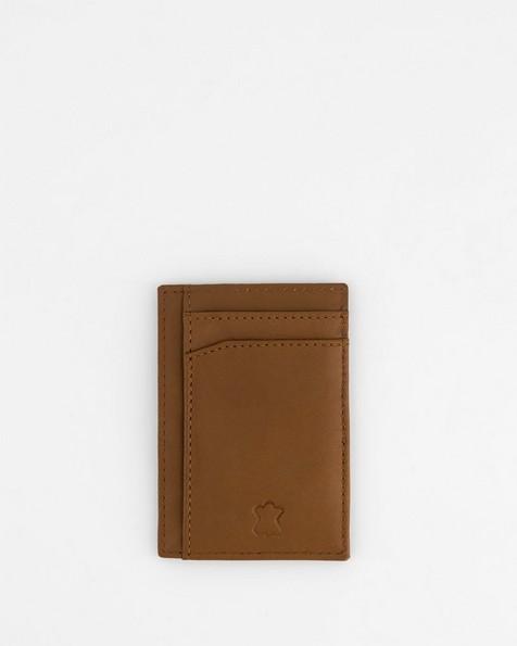 Men's Richard Leather Cardholder -  tan