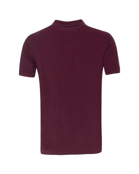Alex Men's Standard Fit Golfer  -  burgundy