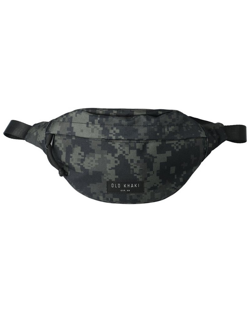 Barrett Retro Badge  Moonbag -  black-black