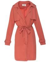 Mikayla Women's Trench Jacket -  rose