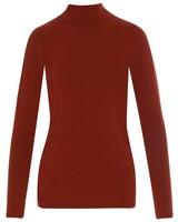 Lisa Long Sleeve T-Shirt -  rust-rust