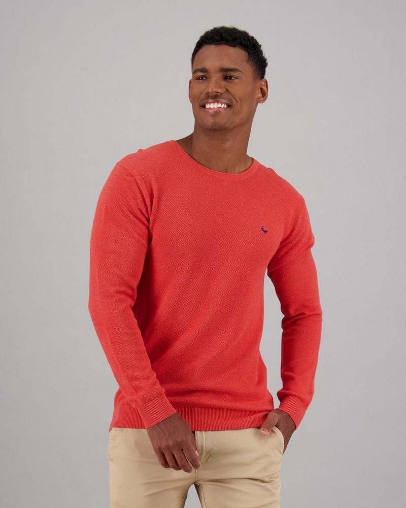Men's Holmes Pullover -  orange