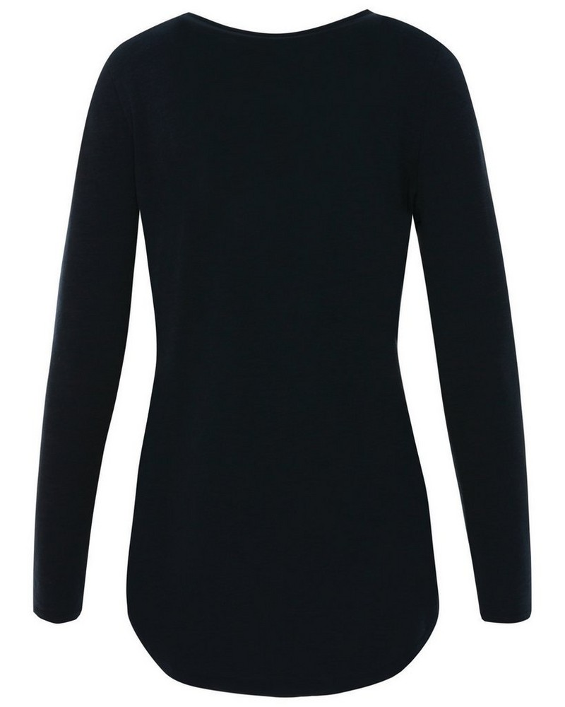Old Khaki Women's Emma Long Sleeve Top -  navy