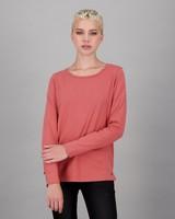 Old Khaki Women's Emma Long Sleeve T-Shirt -  pink