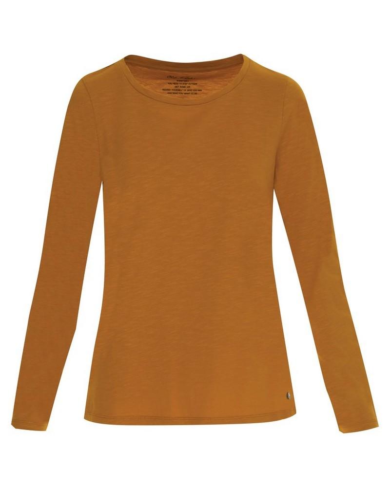 Old Khaki Women's Emma Long Sleeve T-Shirt -  ochre
