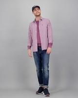 Men's Gareth Slim Fit Shirt -  red