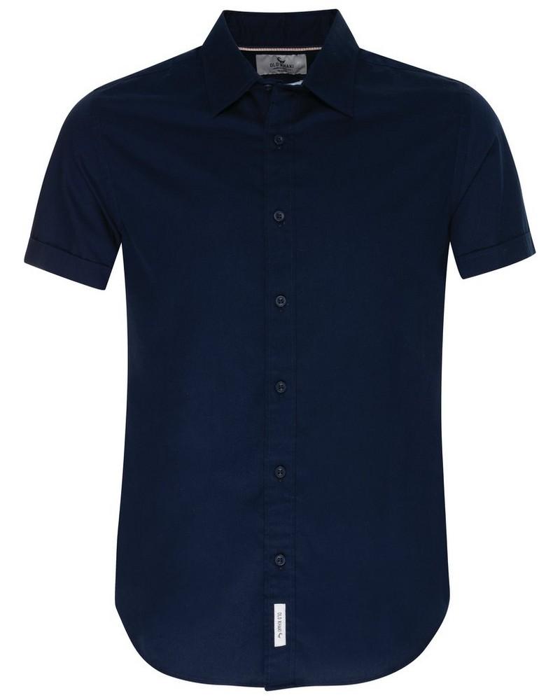 Conrad Slim Fit Shirt  -  navy